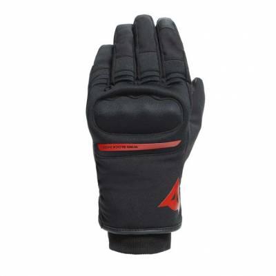 Dainese Handschuhe Avila D-Dry, schwarz-rot