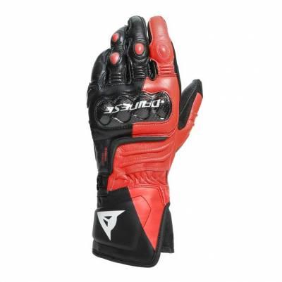 Dainese Handschuhe Carbon 3 Long, schwarz-fluorot