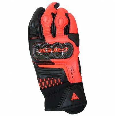Dainese Handschuhe Carbon 3 Short, schwarz-fluorot