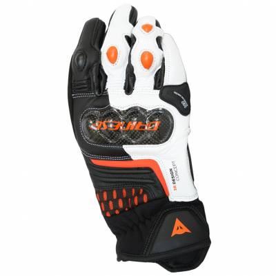 Dainese Handschuhe Carbon 3 Short, schwarz-weiß-orange