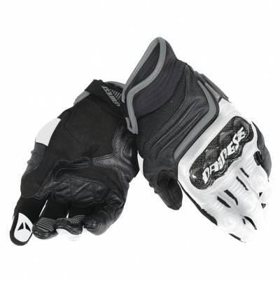 Dainese Handschuhe Carbon D1 short, schwarz-weiß-anthrazit