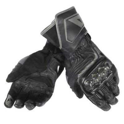Dainese Handschuhe Carbon long D1, schwarz