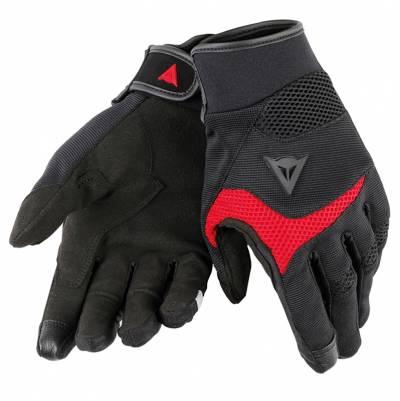 Dainese Handschuhe Desert Poon D1, schwarz-rot