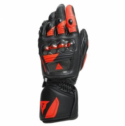 Dainese Handschuhe Druid 3, schwarz-fluorot