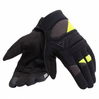 Dainese Handschuhe Fogal, schwarz-fluogelb