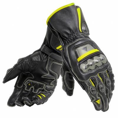 Dainese Handschuhe Full Metal 6, schwarz-fluogelb