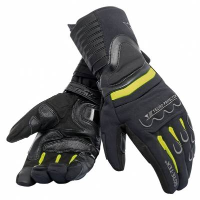 Dainese Handschuhe Scout 2 GTX, schwarz-fluogelb