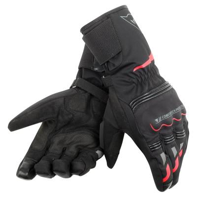 Dainese Handschuhe Tempest Ddry long, schwarz-rot