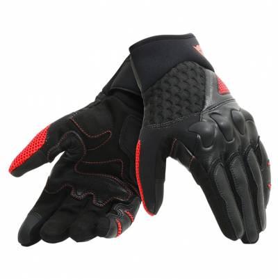 Dainese Handschuhe X-Moto, schwarz-fluorot