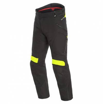 Dainese Herren Textilhose Dolomiti Gore-Tex®, schwarz-fluogelb