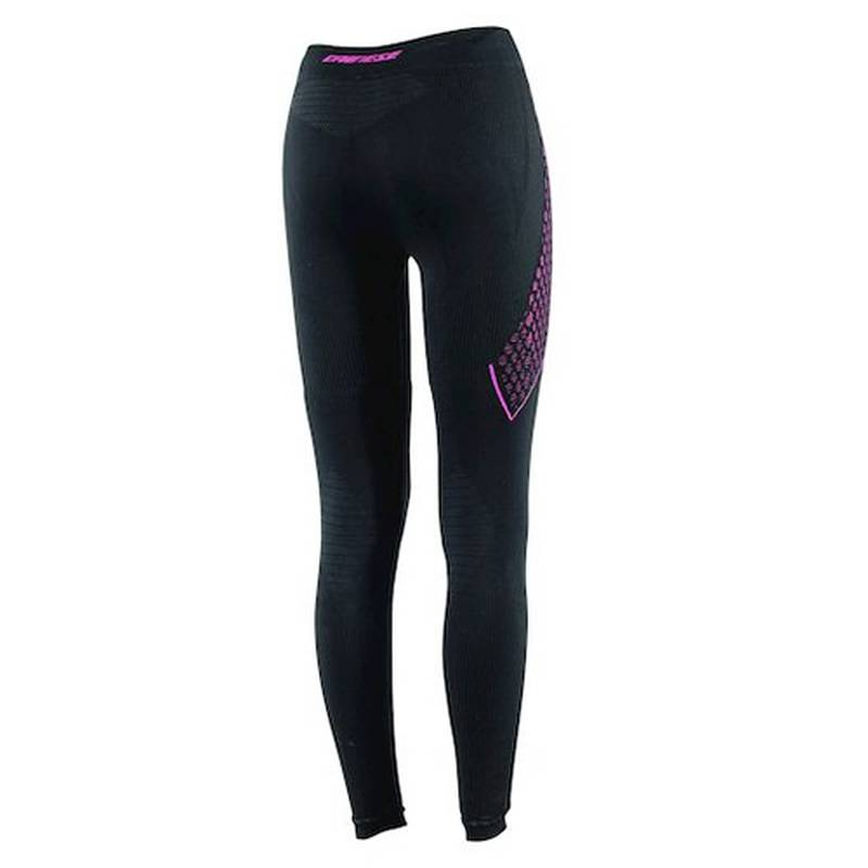 Dainese Hose D-Core Thermo Lady lang, schwarz-fuchsia