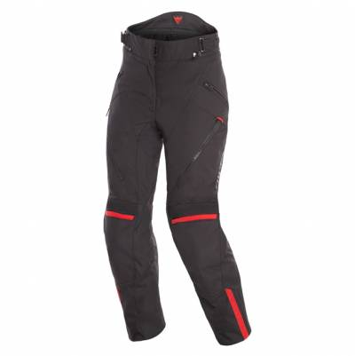 Dainese Hose Tempest 2 D-Dry Lady, schwarz-rot