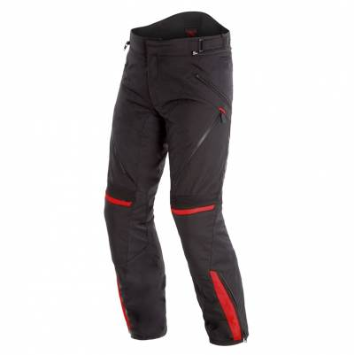 Dainese Hose Tempest 2 D-Dry, schwarz-rot