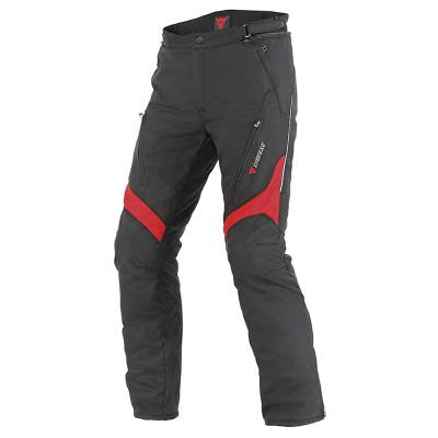 Dainese Hose Tempest D-Dry, schwarz-rot