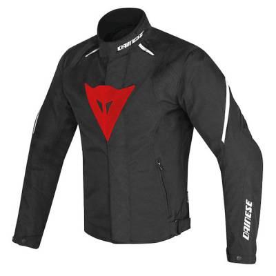 Dainese Jacke Laguna Seca D1 D-Dry, schwarz-rot-weiß