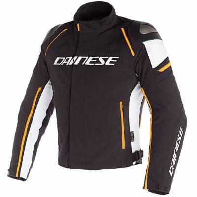 Dainese Jacke Racing 3 D-Dry, schwarz-orange-weiß