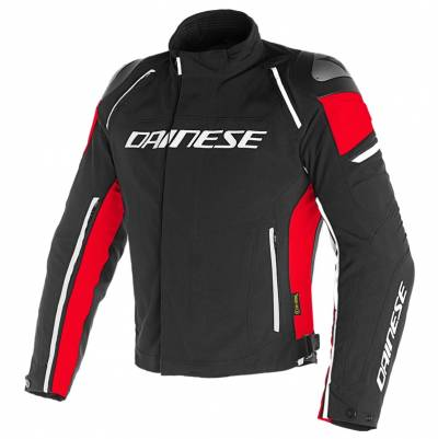 Dainese Jacke Racing 3 D-Dry, schwarz-rot