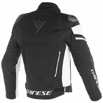 Dainese Jacke Racing 3 D-Dry, schwarz-weiß
