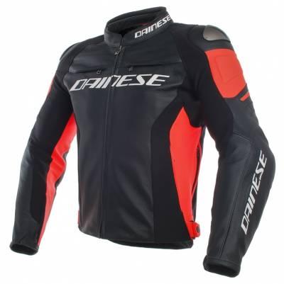 Dainese Jacke Racing 3, schwarz-fluorot