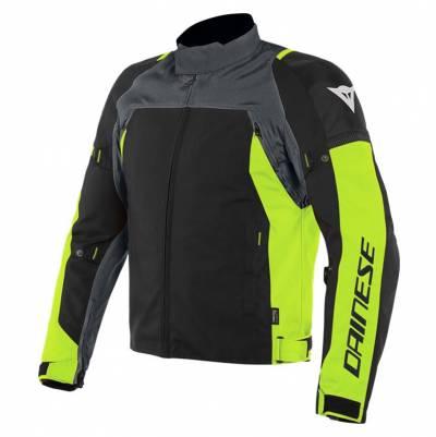 Dainese Jacke Speed Master D-Dry®, grau-fluogelb-schwarz