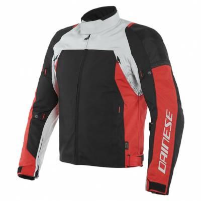 Dainese Jacke Speed Master D-Dry®, grau-rot-schwarz