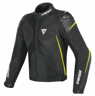 Dainese Jacke Super Rider D-Dry, schwarz-fluogelb