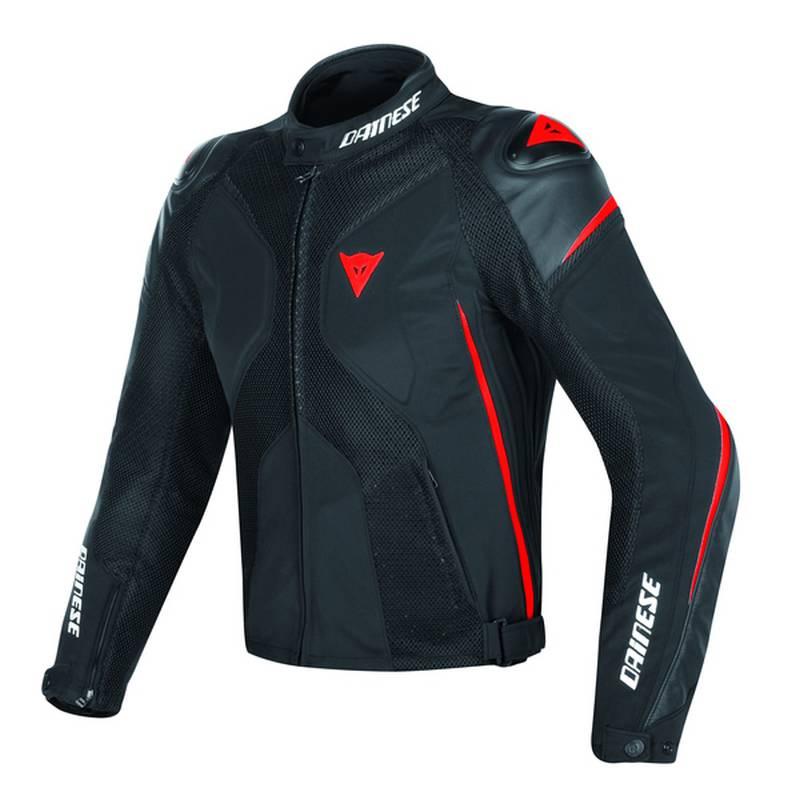 Dainese Jacke Super Rider D-Dry, schwarz-schwarz-fluorot