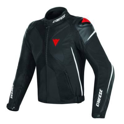 Dainese Jacke Super Rider D-Dry, schwarz-weiß-rot