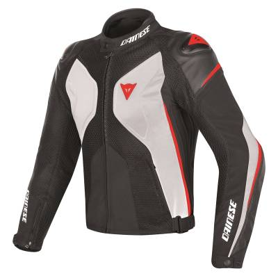 Dainese Jacke Super Rider D-Dry, weiß-schwarz-rot