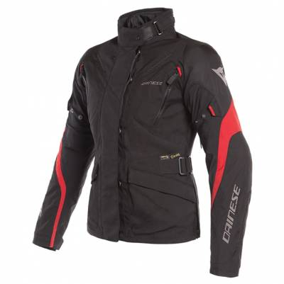 Dainese Jacke Tempest 2 D-Dry Lady, schwarz-rot