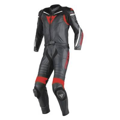 Dainese Kombi Laguna Seca D1, schwarz-rot