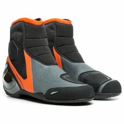 Dainese Kurzstiefel Dinamica Air, schwarz-orange-anthrazit