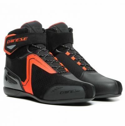 Dainese Schuhe Energyca Air, schwarz-fluorot