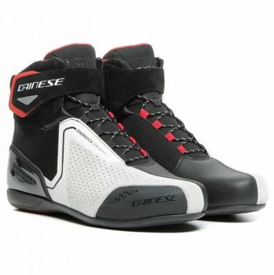 Dainese Schuhe Energyca Air, schwarz-weiß-lavarot