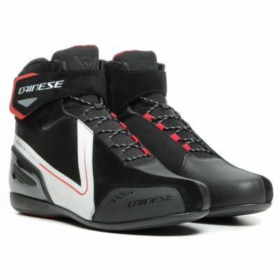 Dainese Schuhe Energyca D-WP, schwarz-weiß-lavarot