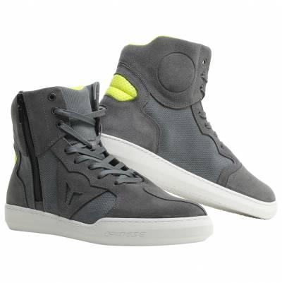 Dainese Schuhe Metropolis, anthrazit-fluogelb