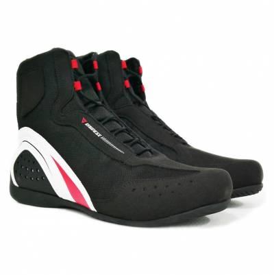 Dainese Schuhe Motorshoe Air JB, schwarz-weiß-rot