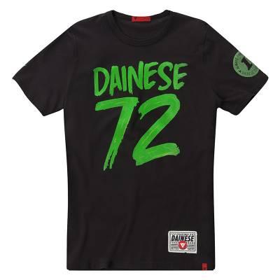 Dainese Shirt 72, schwarz-grün