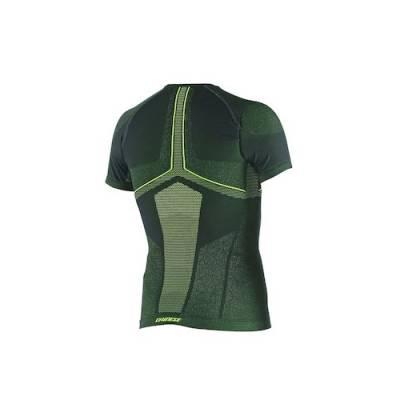 Dainese Shirt D-Core kurz, schwarz-gelbfluo