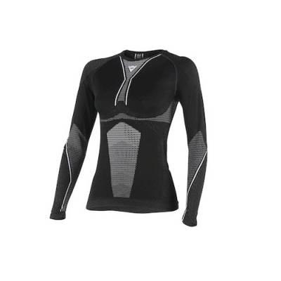 Dainese Shirt D-Core Lady lang, schwarz-weiß