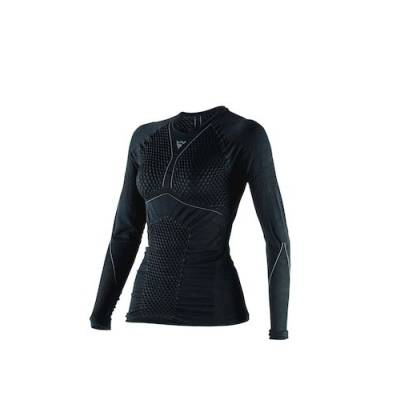 Dainese Shirt D-Core Thermo Lady lang, schwarz-anthrazit