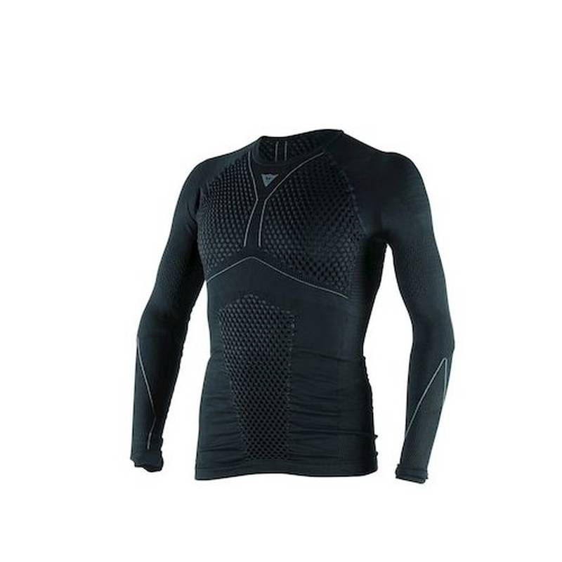 Dainese Shirt D-Core Thermo lang, schwarz-anthrazit
