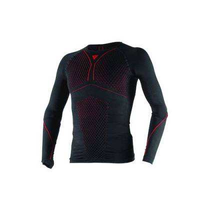 Dainese Shirt D-Core Thermo lang, schwarz-rot