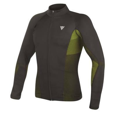 Dainese Shirt D-Core WS lang, schwarz-fluogelb