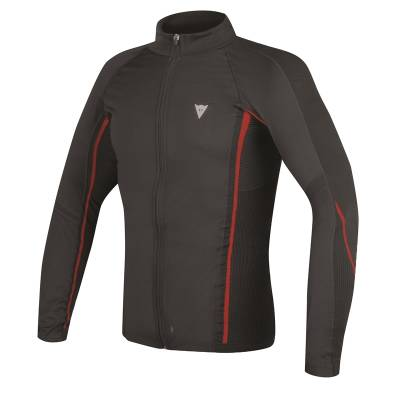 Dainese Shirt D-Core WS Thermo lang, schwarz-rot