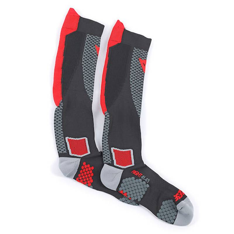 Dainese Socken D-Core High, schwarz-rot