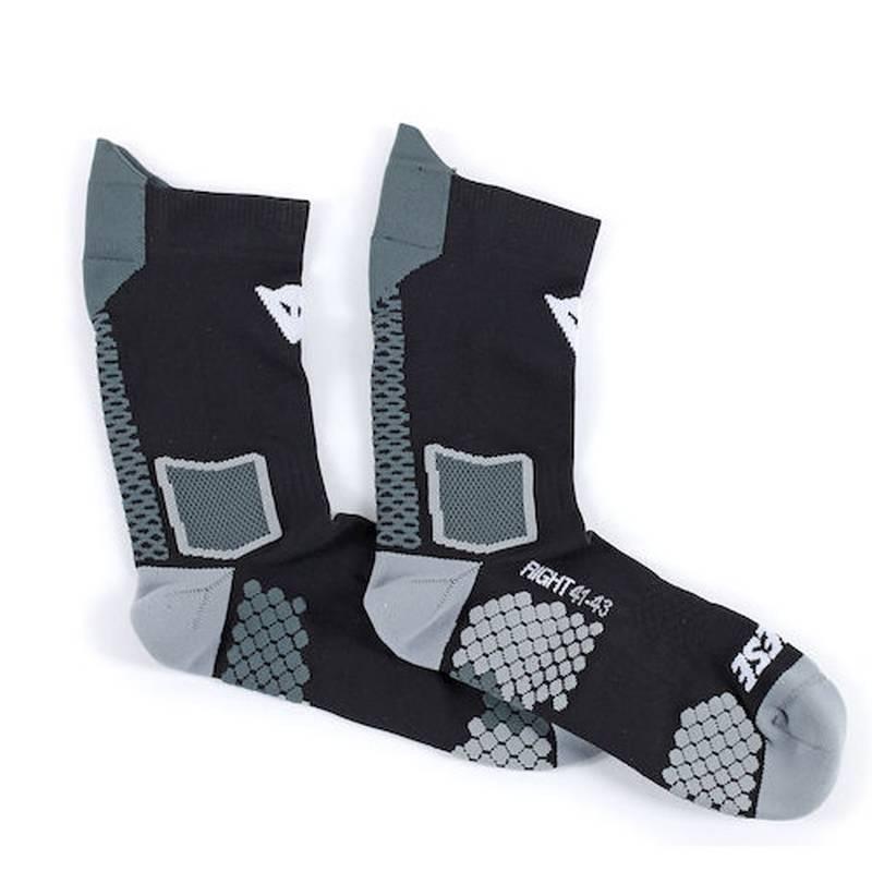 Dainese Socken D-Core Mid, schwarz-anthrazit