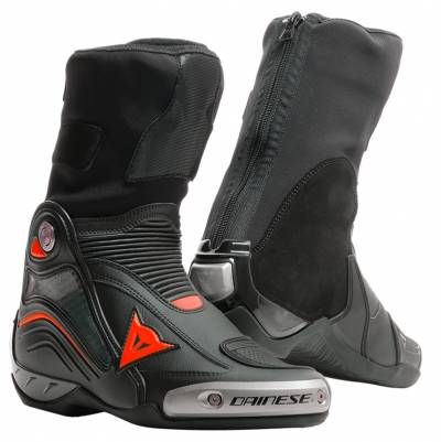 Dainese Stiefel Axial D1, schwarz-fluorot