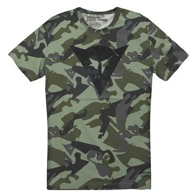 Dainese T-Shirt Camo, tarngrün