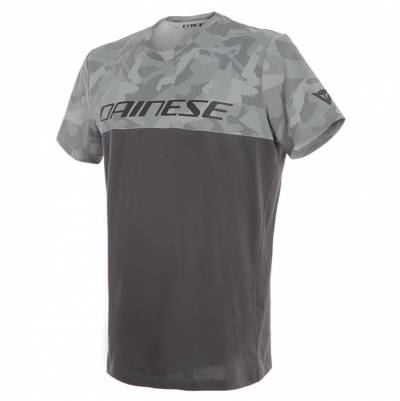 Dainese T-Shirt Camo-Tracks, anthrazit